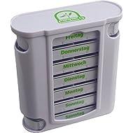 "Wochendispenser 7 Tage Farbe: Naturweiß Tablettenbox Medikamentenspender Medi-Inn ""TOP Ware"""