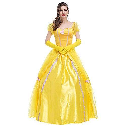 Märchen Kostüm Einfache - QWE Halloween kostüm Prinzessin Kleid Gericht Kleid märchen Thema kostüm bühnenkostüm erwachsenes Halloween kostüm