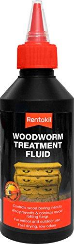 Rentokil PWT25 Fluide de traitement pour vers à bois Noir 250 ml