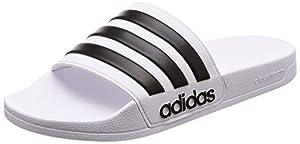adidas Herren CF Adilette Flip-Flops, Elfenbein (Ftwbla/Negbas/ftwbla), 43