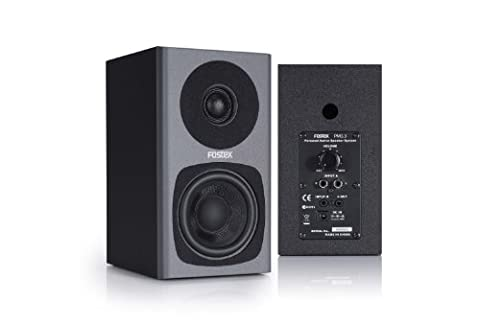 Fostex PM0.3G Aktiver Desktop-Monitor (2x 15 Watt) grau