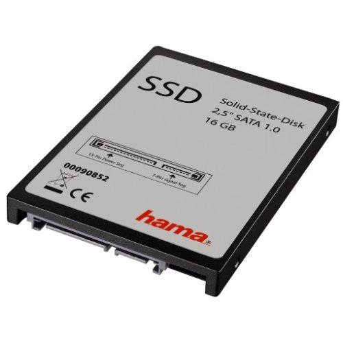 """Hama 16GB, 2.5"""", SATA 16GB 2.5"""" Serial ATA - Internal Solid State Drives (2.5"""", SATA, 16 GB, 2.5"""", Serial ATA, 100 MB/s)"""