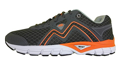 Karhu MEN'S SMART FULCRUM (Charcoal/Mykonos) F100194 - Scarpa Running Uomo (EU 44.5)