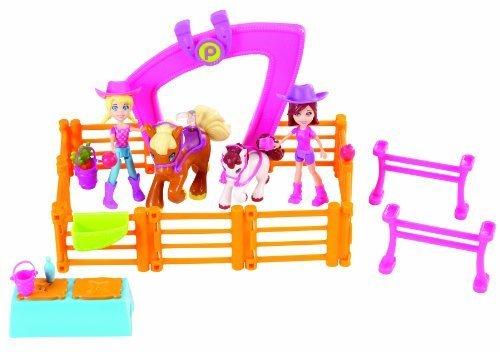 Polly Pocket Horsing Around Doll Set by Mattel by Mattel