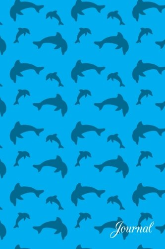 Journal: Sky blue dolphin notebook - Sky Blue Dolphins