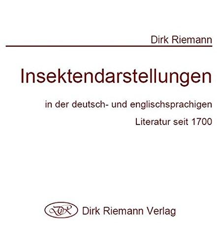 Insektendarstellungen in der deutsch- und englischsprachigen Literatur seit 1700