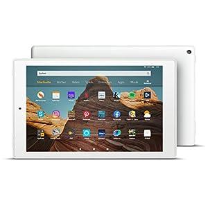 Fire HD 10-Tablet│10,1 Zoll großes Full HD-Display (1080p), 32 GB, Weiß mit Spezialangeboten