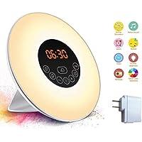USB-Wecker Wake-Up Light Mit Sunrise/Sunset Simulator, Bunte Farbe LED Berühren Elektronische Uhr Nachtlicht Mit... preisvergleich bei billige-tabletten.eu