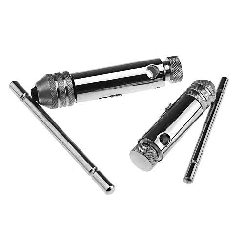 Verstellbarer Schraubenschlüssel M3-M8 M5-M12 Ratsche Gewindebohrer T-Griff Schlüssel