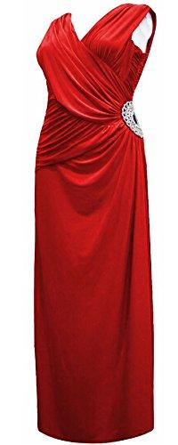 Vanilla Inc - Robe - Sans Manche - Femme * taille unique red