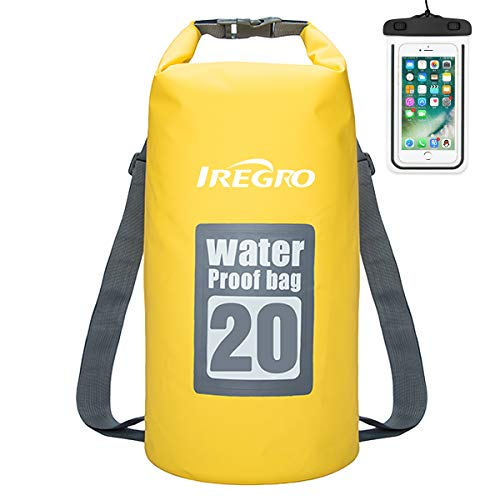 IREGRO Bolsas Estancas Impermeable 20L 500D Doble