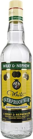 Wray and Nephew White Overproof Rum, 70