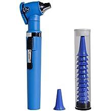 Holtex ds0320_ B otoscopio Fibra Optica Hoto Light, sin pilas, azul