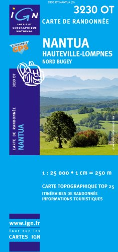 Nantua / Hauteville-Lompnes / Nord Bugey GPS: Ign.3230ot