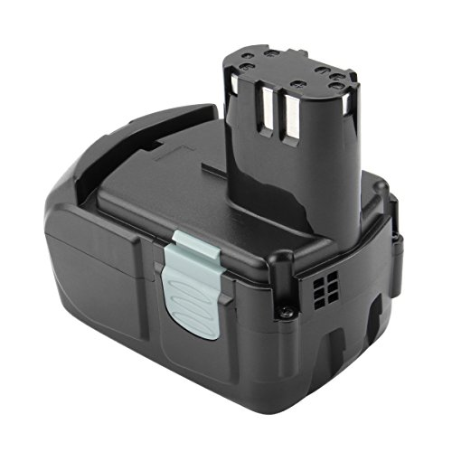 Exmate Batería de repuesto de iones de litio 18V 3000mAh para HITACHI BCL1815 BCL1830 327730 327731