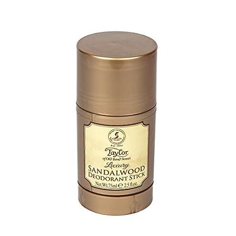 Taylor of Old Bond Street 75ml Luxury Sandalwood Deodorant Stick