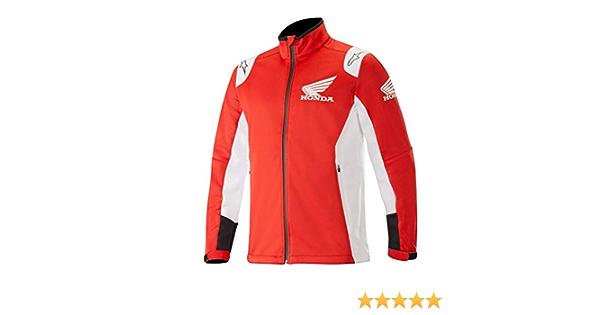 Alpinestars Honda Softshell Jacke Rot Weiß M Bekleidung