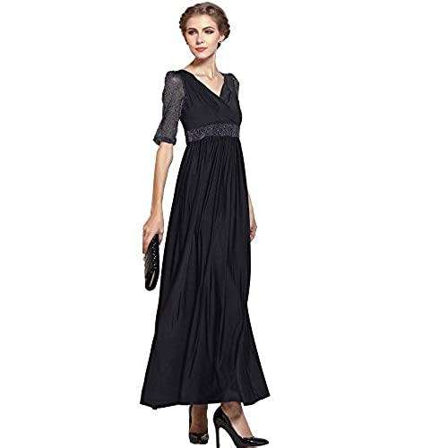 Half sleeve maxi dress uk