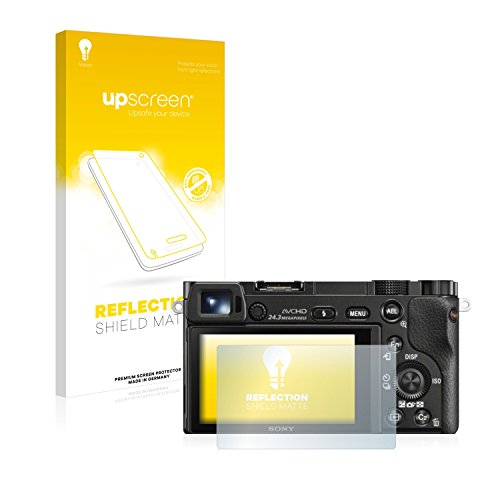 upscreen Reflection Shield Matt Displayschutzfolie Sony Alpha 6000 Schutzfolie Folie – Entspiegelt, Anti-Fingerprint, Made in Germany