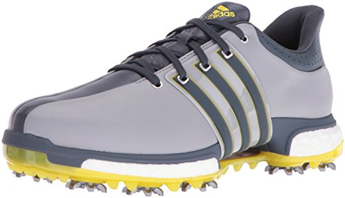 adidas Men's Tour 360 Boost Golf Shoe LIGHT ONIX GREY, 15 M US