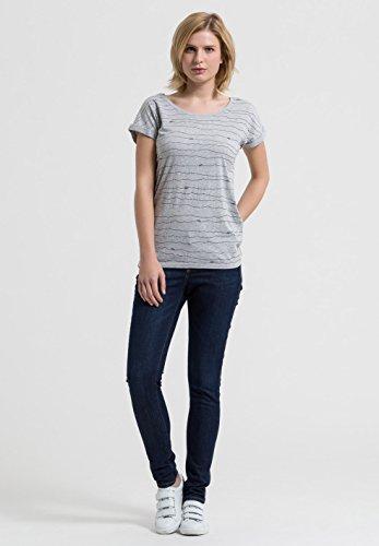 T-SHIRT LIV PAPER BOATS Grey