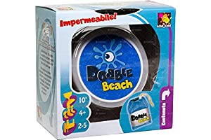 Asmodee Italia Dobble Beach Juego de Mesa, Color Azul, dobbeac01it