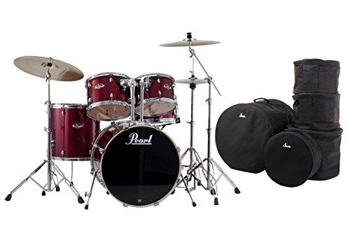 Mahagoni Stativ (Pearl EXX725BR/C91 Drumkit (22