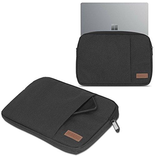 Odys Winbook 13 Hülle Tasche Notebook Schutzhülle Schwarz / Grau Cover 13,3 Case, Farbe:Schwarz