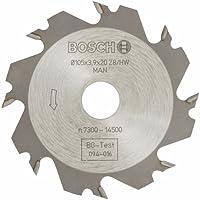 Bosch Zubehör 3608641008 Scheibenfräser 8, 20 mm, 4 mm