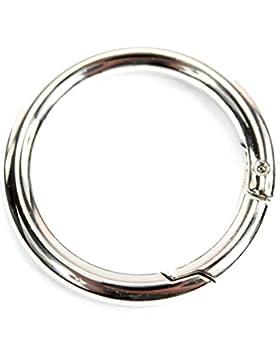 Ersatzteil Karabiner Ring Bastelbedarf für Henkel Griffe von Handtaschen Ledertaschen 228 330 337 IT40 T02 T10...