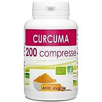 Curcuma Biologico - 400 mg - 200 compresse