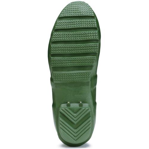 Hunters–Original Short Gloss Gummistiefel, Unisex Verde(Greens)