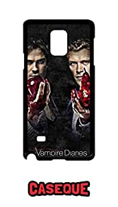 Caseque The Vampire Diaries Back Shell Case Cover for Samsung Galaxy Note 4