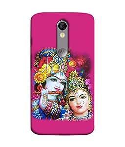 PrintVisa Designer Back Case Cover for Motorola Moto X Force :: Motorola Moto X Force Dual SIM (Design Statue Background Wallpaper Hindu Art Culture)
