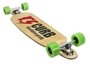 Curb Downhill Skateboard mixte adulte Noir 110 x 27 x 17.5 cm