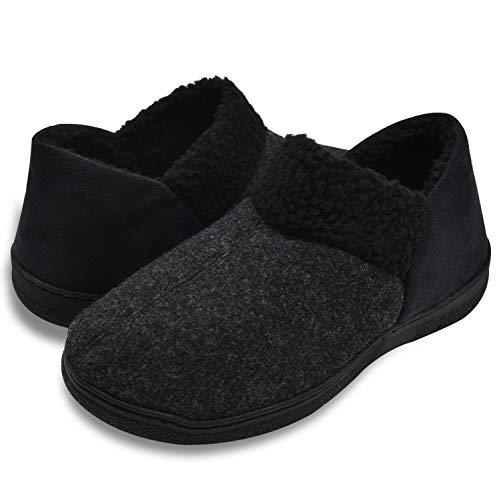 ONCAI Zapatillas de casa para Hombre Calzado clásico Suave Antideslizante de Invierno.