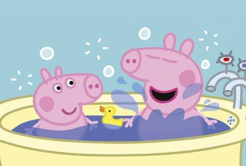 Imagen principal de Jumbo Puzzle - Juego de 3 puzzles de Peppa Pig (6, 9 y 12 piezas)