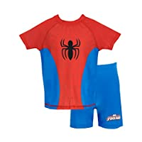Spiderman Boys Spider-Man Two Piece Swim Set