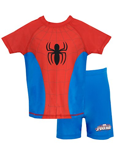 Spiderman Boys Spider-Man Two Piece Swim Set Age 4 to 5 Years