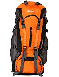 Impulse Thames 85 litres Blue Waterproof Rucksack Backpack for Travelling Trekking Hiking with Free Raincover