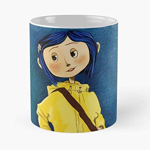 Coraline Tim Burton Best Gift Ceramic Coffee Mugs