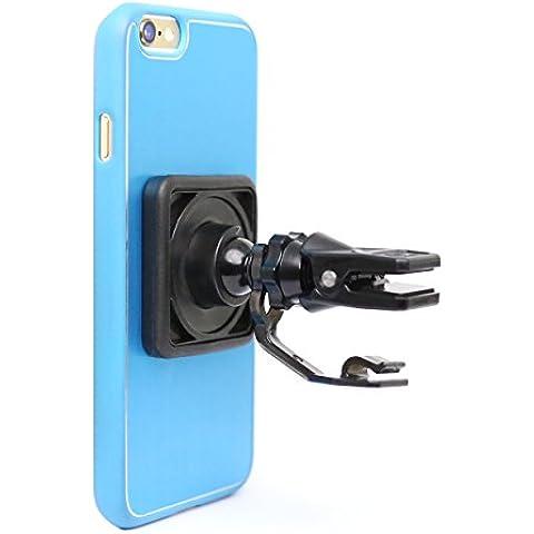 Mountek airsnap de purga de aire soporte de coche para teléfonos móviles, smartphones, Phablets y Mini Tablets- embalaje abrefácil–negro
