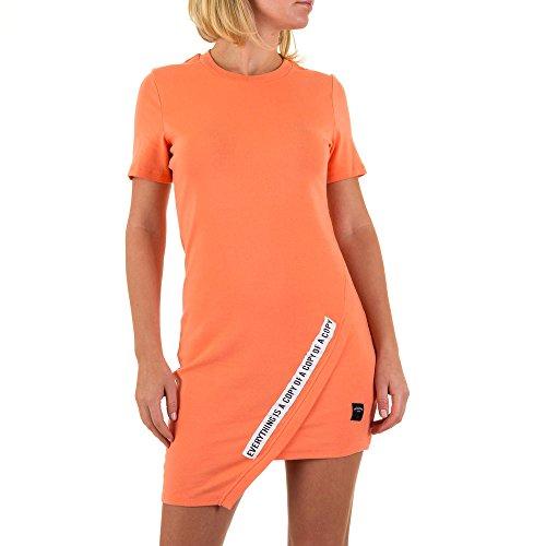 Sixth June Mini Stretch Kleid Für Damen bei Ital-Design Apricot