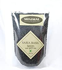 Minimal Basil Seeds/Sabja,100Gr