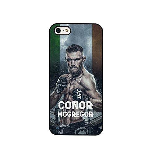 BigBazza Conor McGregor UFC Fight MMA The Notorious Irland Irish Fighter Handy Schutzhülle für iPhone 6& 6S (11,9cm)-in weiß