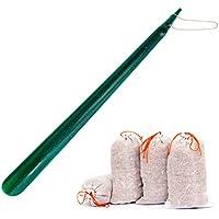 Lantelme 7072 Set 60 cm Schuhanzieher grün mit Kette und Zedernholz Duftsäckchen gegen Fußgeruch preisvergleich bei billige-tabletten.eu
