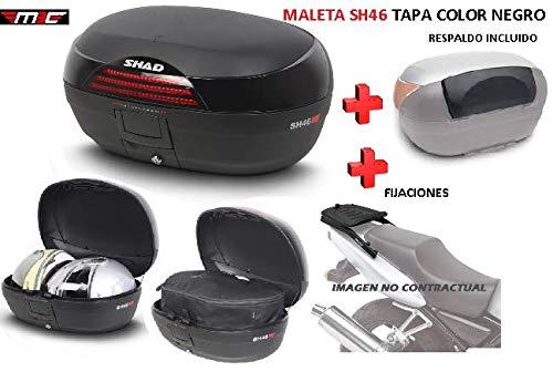 SHAD Kit BAUL Maleta Trasero SH46 litros + FIJACION