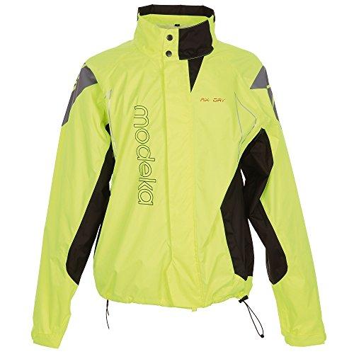 Preisvergleich Produktbild Modeka AX-Dry Motorrad-Regenjacke,  Gelb (S)