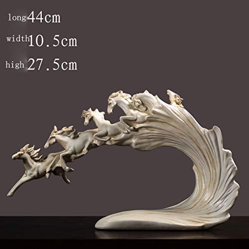 CCF Kunsthandwerk, Ornamente, Skulptur, Büro, Wohnzimmer, Kunstwerk, Ornament (größe : Wan Ma Pentium) -