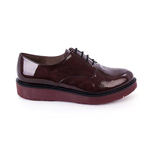 Wonders Donna scarpe Derby rosso Size: 37